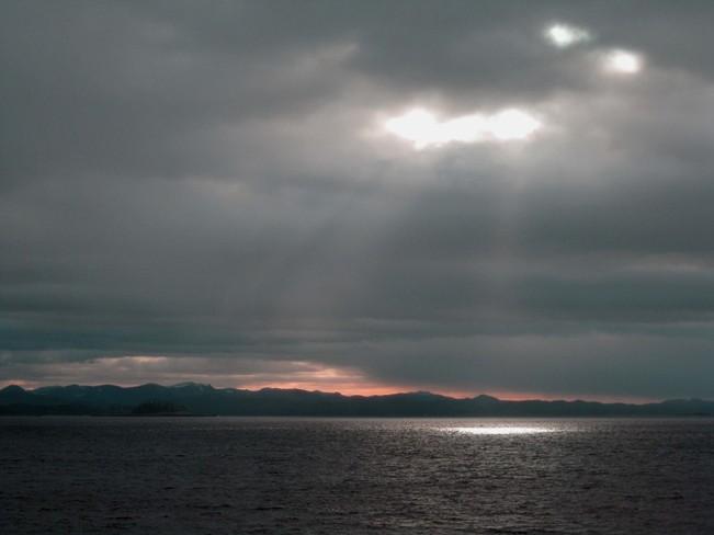 God Shining Through? Prince Rupert, British Columbia Canada