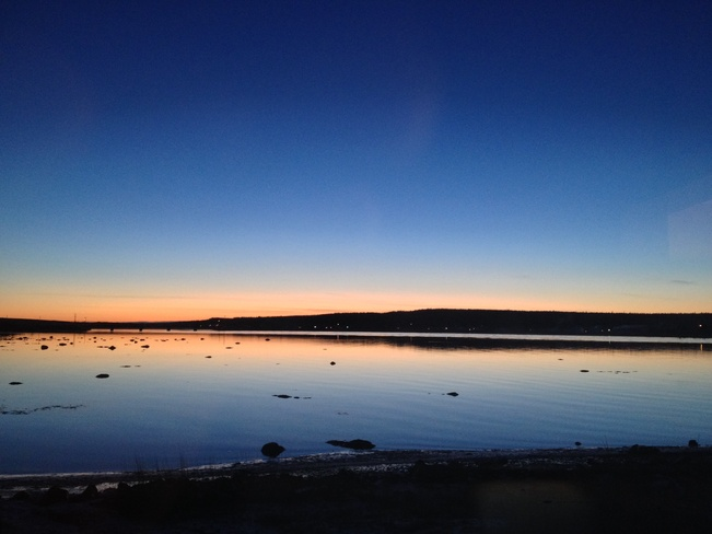 Clear December Night Gander, Newfoundland and Labrador Canada