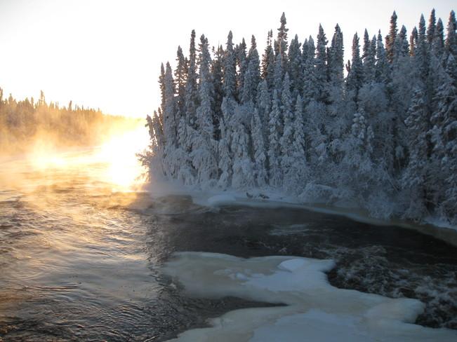 Hughs River Lynn Lake, Manitoba Canada