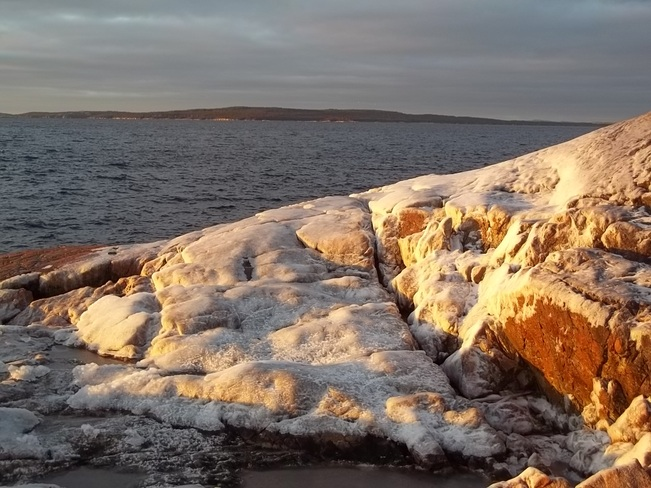 Sun Kissed Rocks Birchy Bay, Newfoundland and Labrador Canada
