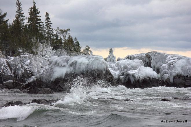 Frozen In Time Batchawana Bay, Ontario Canada