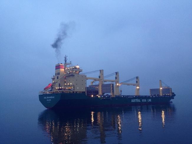 gohst ship Crofton, British Columbia Canada
