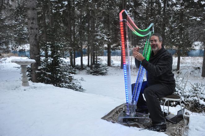 A new kind of Christmas Light Huntsville, Ontario Canada
