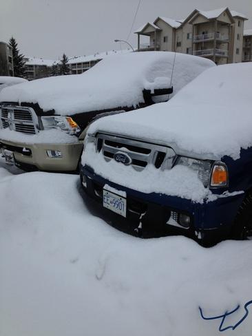 snowy car West Ridge, Arkansas United States