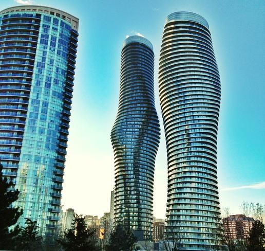 city morning Mississauga, Ontario Canada