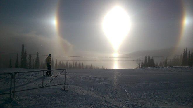 Snow Dog? Sun Peaks, British Columbia Canada