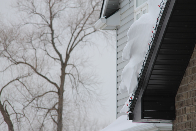 Snow Windsor, Ontario Canada