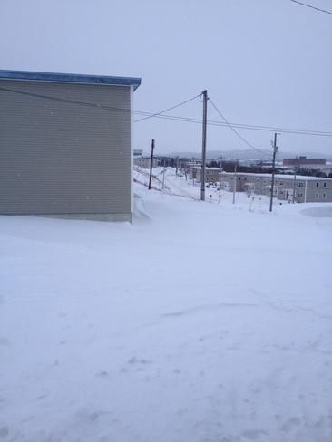 After the snow storm Stephenville, Newfoundland and Labrador Canada