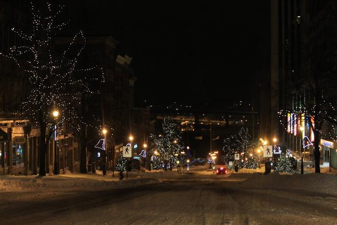Winter Uptown Saint John, New Brunswick Canada