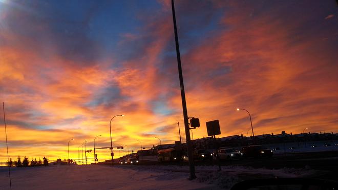 Beautiful Clouds Edmonton, Alberta Canada