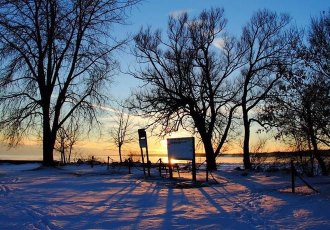 Winter Wonderland Port Dover, Ontario Canada