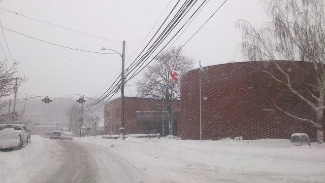 Kentville during storm Kentville, Nova Scotia Canada