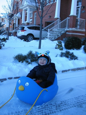 Let it Snow! Mississauga, Ontario Canada
