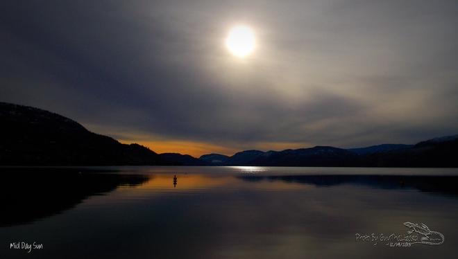 Mid Day Sun Penticton, British Columbia Canada