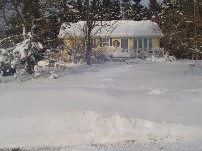 snow O'Leary, Prince Edward Island Canada