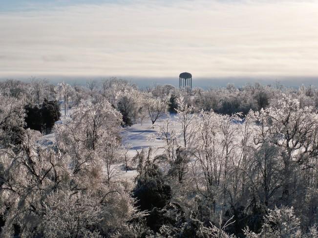 Crystal ice Kingston, Ontario Canada