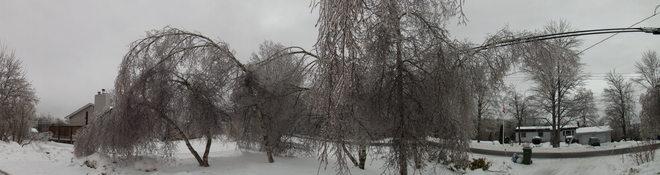 ice storm the final chapter 6 New Minas, Nova Scotia Canada