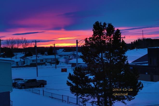 2.9°C beautiful start to the day Swan Hills, Alberta Canada