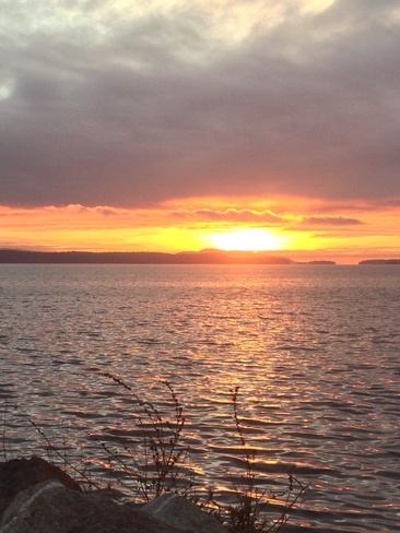 sunrise Sidney, British Columbia Canada