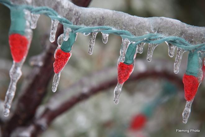 Ice storm Brampton, Ontario Canada