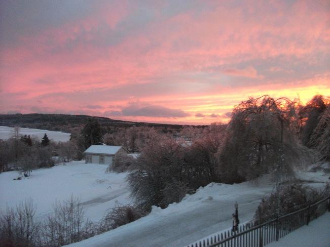 Ice Storm Dec 2013 Summerville, New Brunswick Canada