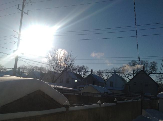 Got colder -47 windchill! Winnipeg, Manitoba Canada