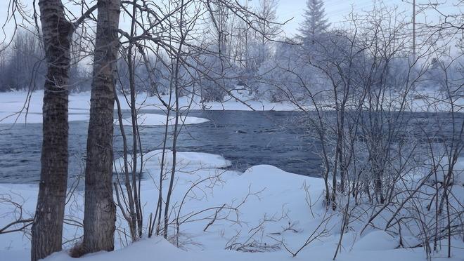 Montreal river in all of its splendor La Ronge, Saskatchewan Canada