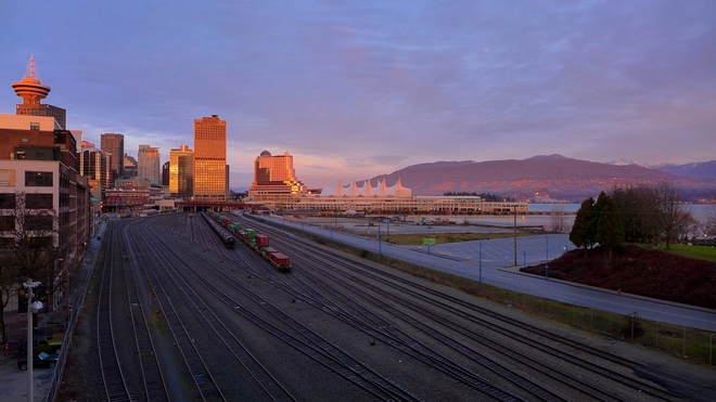 Happy New Year! Vancouver, British Columbia Canada