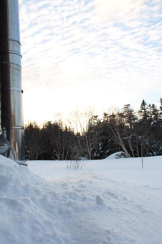 A cold sunset St. John's, Newfoundland and Labrador Canada