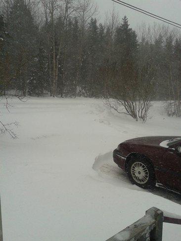 Storm New Glasgow, Nova Scotia Canada