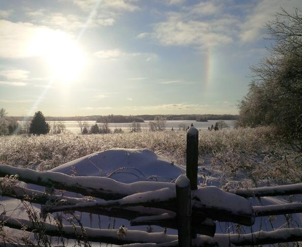 Chemong Lake Snow Bow Lakefield, Ontario Canada
