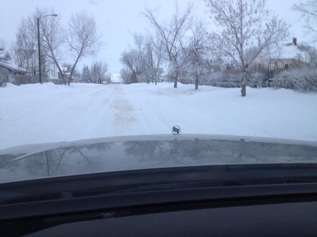 more snow! Hanna, Alberta Canada