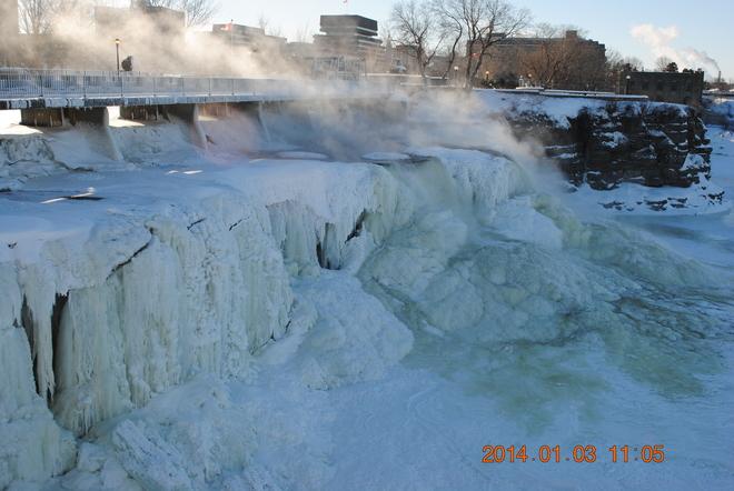 Rideau Falls Ottawa, Ontario Canada