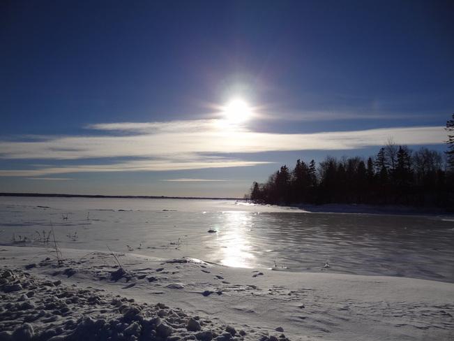 All is frozen Bathurst, New Brunswick Canada