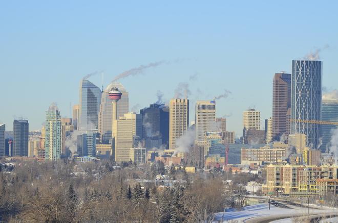Cool Downtown Calgary Calgary, Alberta Canada