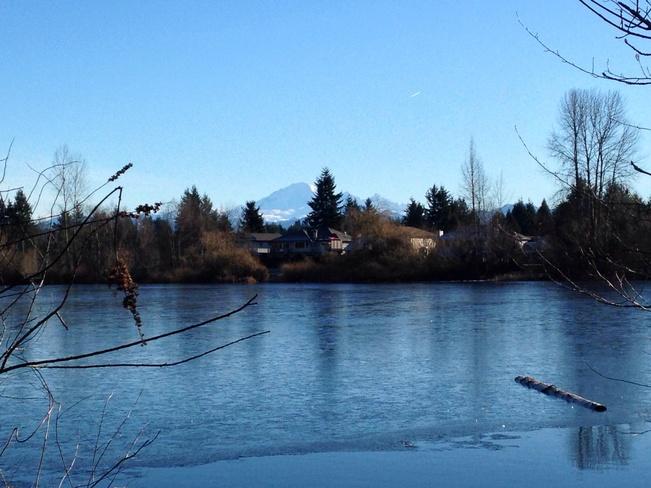 A clear day! Abbotsford, British Columbia Canada