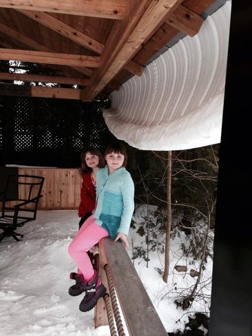 snow St. Catharines, Ontario Canada