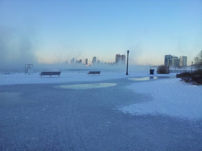 arctic cold Etobicoke, Ontario Canada