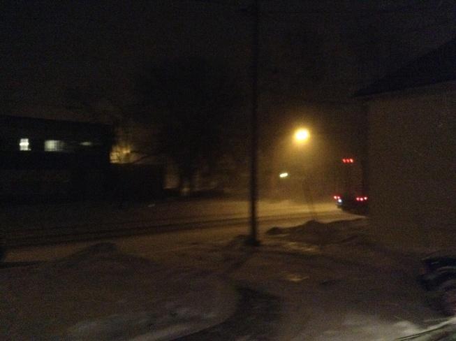 Snow Squalls Dunnville, Ontario Canada