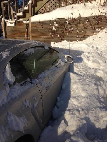 I found my car North Bay, Ontario Canada