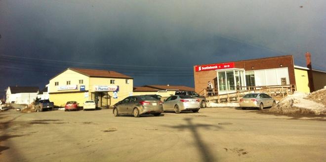 black skies Twillingate, Newfoundland and Labrador Canada