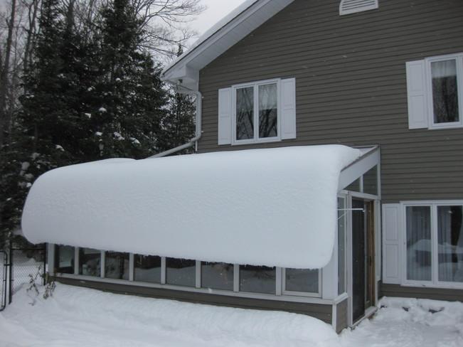 Snow blind Haliburton, Ontario Canada