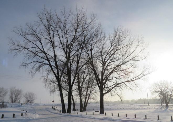 Warm Sunrise Brandon, Manitoba Canada