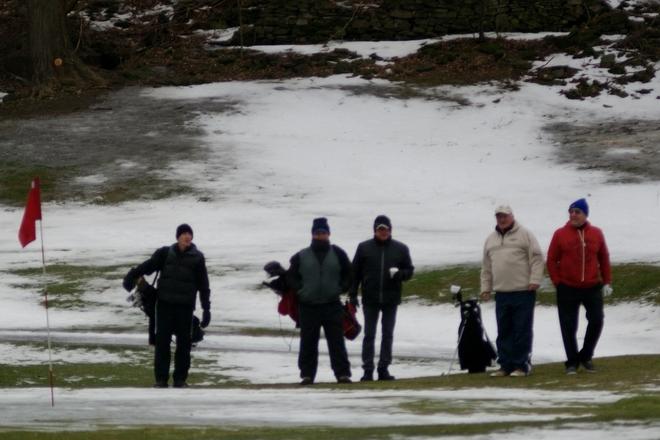 Golfing Canadian style St. Davids, Ontario Canada