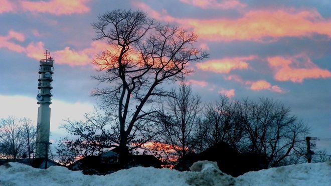 Sunset in Moncton Moncton, New Brunswick Canada