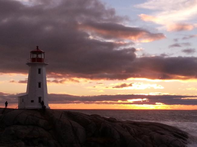 Light House Peggy's Cove, Nova Scotia Canada