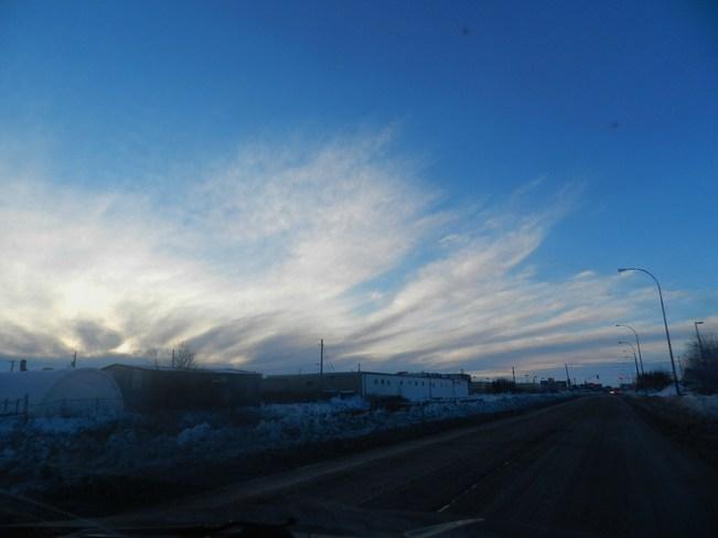 Morning Sky Winnipeg, Manitoba Canada