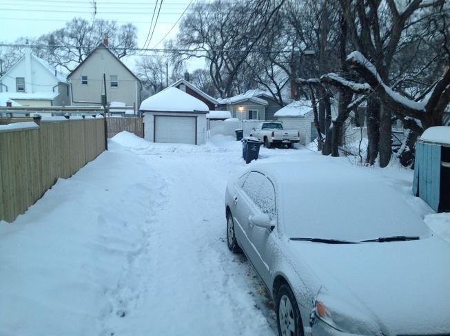 -14c not bad. Winnipeg, Manitoba Canada