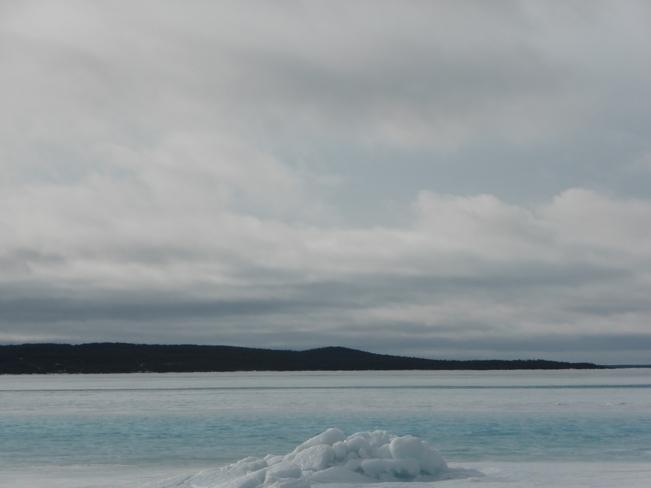 Scenic Blue Birchy Bay, Newfoundland and Labrador Canada