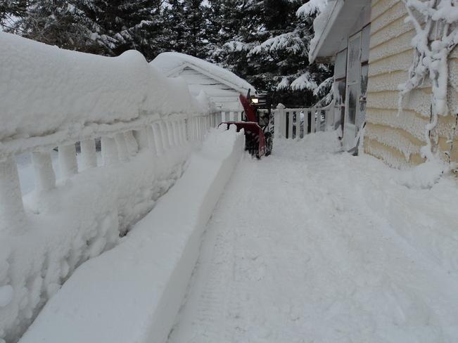 winter day O'Leary, Prince Edward Island Canada